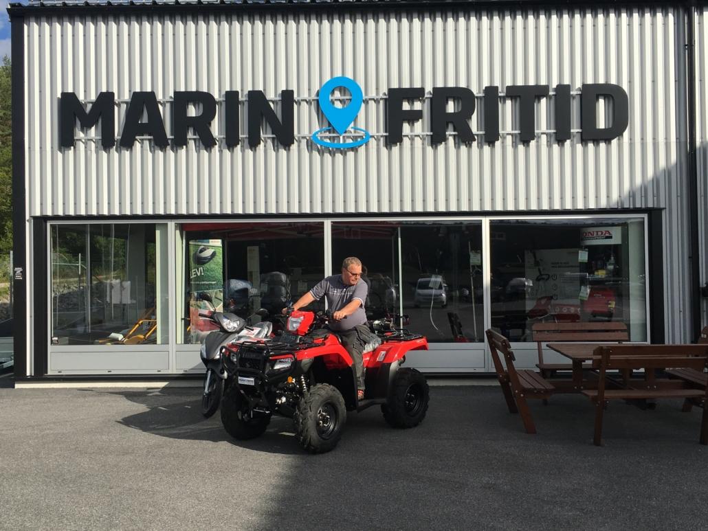 Välkommen in och provkör Honda ATV. Marin & Fritid i Strömstad