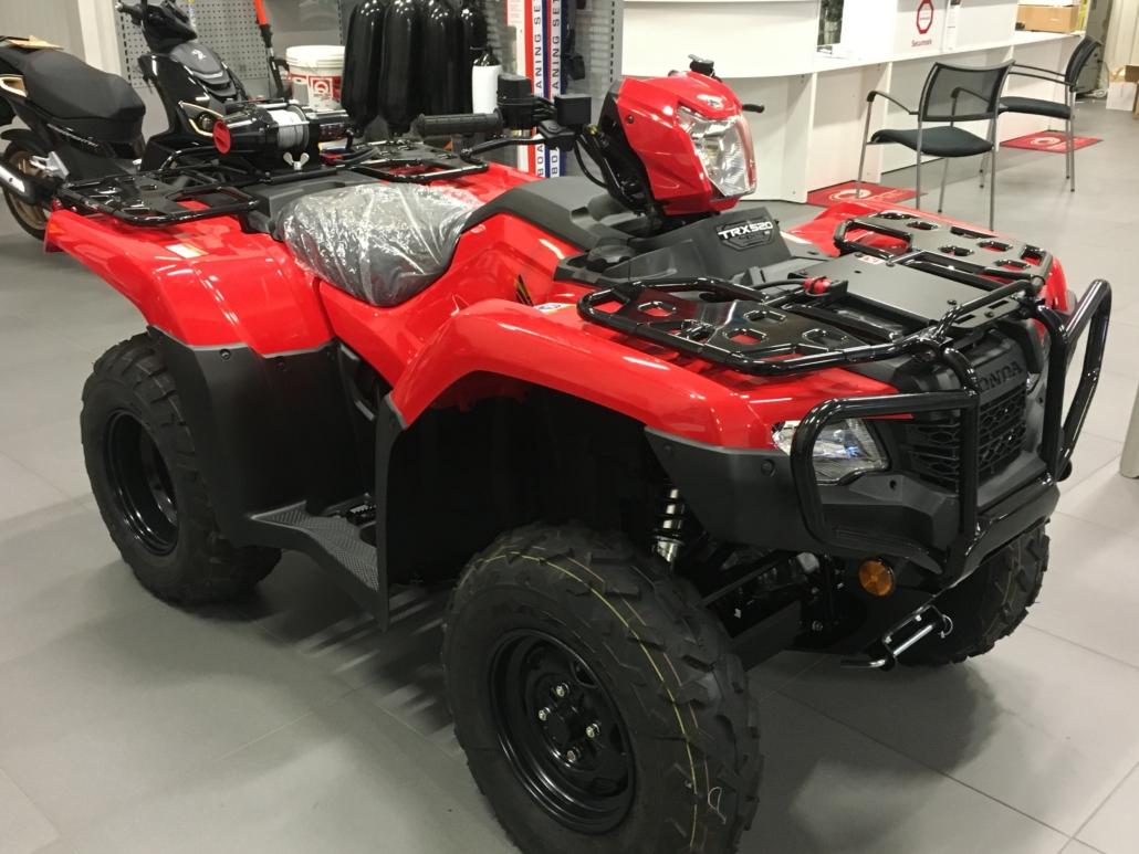 Köp ny ATV från Honda hos Marin & Fritid i Strömstad