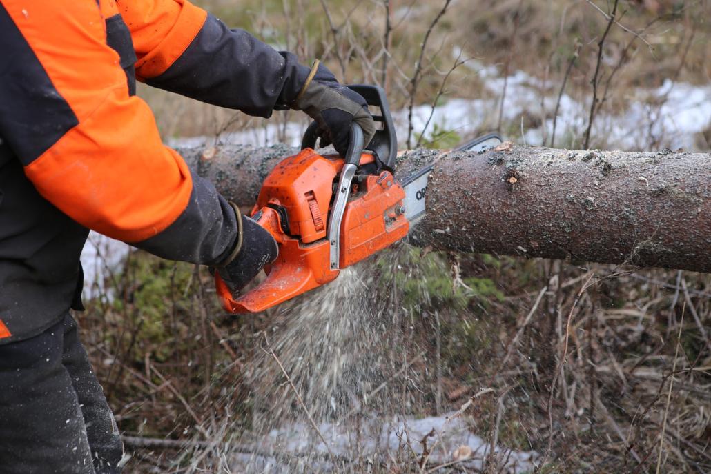 Skog och skogvård. Motorsågar och röjsågar från Ariens hos Marin & Fritid i Strömstad