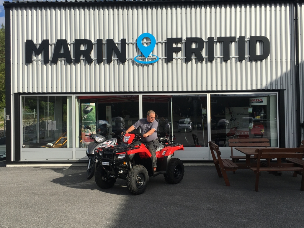 Köp Honda hos Marin & Fritid i Strömstad