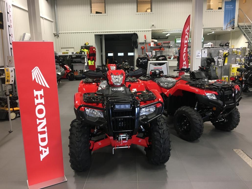 Honda ATV fyrhjuling Strömstad